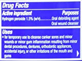 Colgate Peroxyl Mouth Sore Rinse, Mild Mint, 8.4 Fl Oz