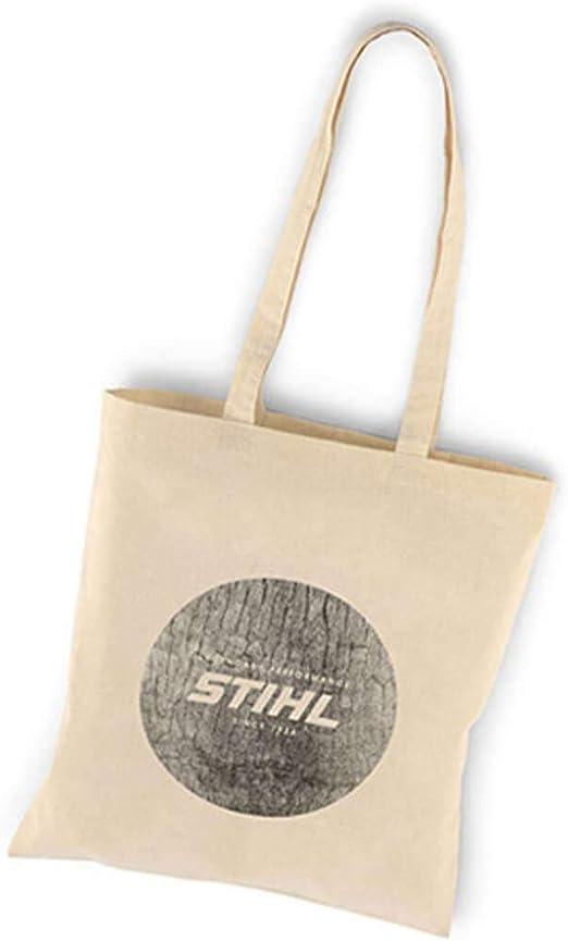 Stihl - Bolsa de tela (algodón), color beige: Amazon.es: Hogar