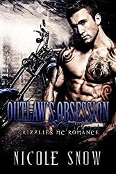 Outlaw's Obsession: Grizzlies MC Romance (Outlaw Love) (English Edition)