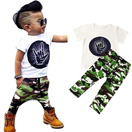 Outfits Laimeng Newborn Infant T Shirt