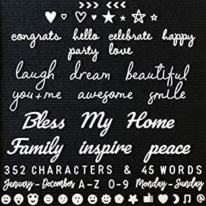 Amazon Com Letter Board Letters And Words For Changeable
