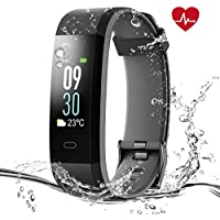 Syncwire Fitness Tracker [Colorful Screen] PolyFit HR Pro...