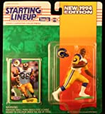 JEROME BETTIS / LOS ANGELES RAMS 1994 NFL Starting Lineup Action Figure & Exclusive NFL Collector Trading Card