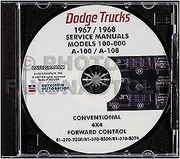 1970 dodge a100 wiring diagram 1968 1970 dodge van cd repair shop manual a100 a108 sportsman  repair shop manual a100 a108 sportsman