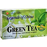 2 Pack of Uncle Lee s Legends of China Green Tea - 100 Tea Bags -