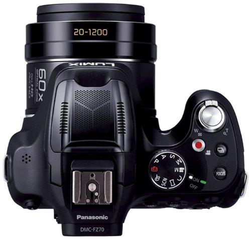 Amazoncom Panasonic Lumix Dmc Fz70 161 Mp Digital Camera With