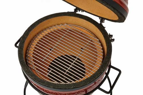 Kamado-Joe-Junior-Grill-Red