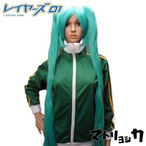 [There is immediate delivery] [domestic shipment] shipment] shipment] Cosplay VOCALOID Matoryoshikamiku unisex size S Parker green S (without food) (japan import) 41266a