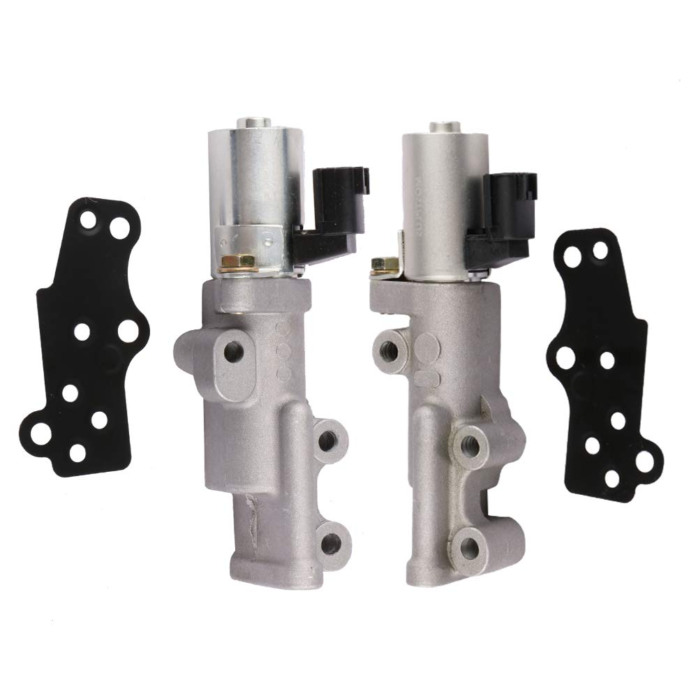 MOSTPLUS Left & Right Oil Control VVT Valve Variable Timing Solenoid Replaces 23796-EA20B 23796-EA20A for V6 Engine on Nissan Infiniti (Set of 2) by MOSTPLUS