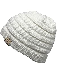 CC Kids Baby Toddler Ribbed Knit Children's Winter Hat...