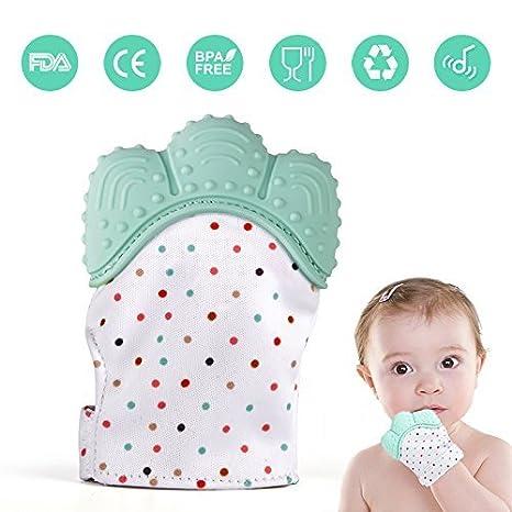 Bebé Dentición Chupete de Bebé Mitón para la Dentición de ...