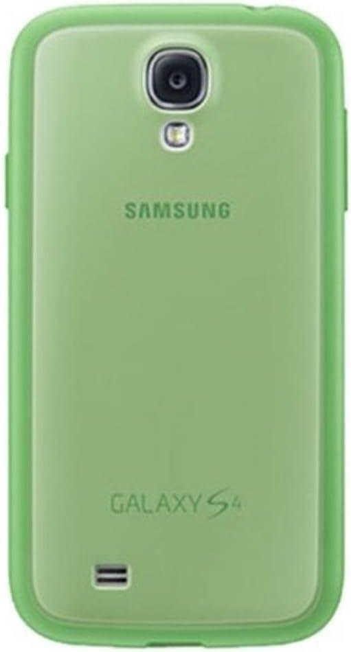 Samsung Protective Cover Plus - Funda para móvil Galaxy S4 (Revestimiento de goma), verde- Versión Extranjera: Amazon.es: Electrónica