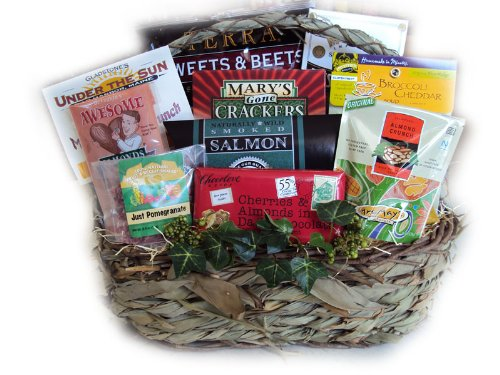 Cheer Up Healthy Gift Basket by Well Baskets by Well Baskets