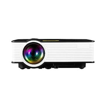 OFF Mini proyector 2019 Video proyector portátil actualizado ...