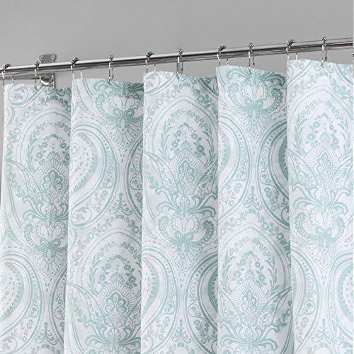 Home Dynamix Nicole Miller Le Petite Fleur 100 Cotton Fabric Shower Curtain Blue White Floral Standard 72x72 Bathroom Accessories Bath