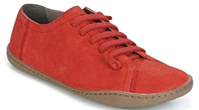 4aa80b5109 Camper Peu Cami 20848 Red Womens Leather Shoes -41: Amazon.co.uk ...