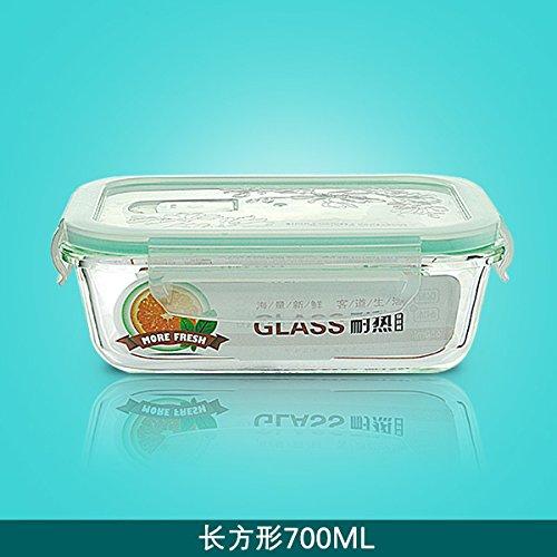 Cuadro fresca copa fiambrera microondas tazón de vidrio ...