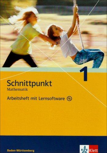 Schnittpunkt Mathematik - Ausgabe für Baden-Württemberg / Arbeitsheft mit Lernsoftware 5. Schuljahr