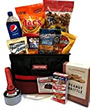 Gift Baskets Manly Mans Meat and Snack Attack Gift Baskets - Lots To Choose From (Snack Gift - Deluxe Craftsman Tool Bag)