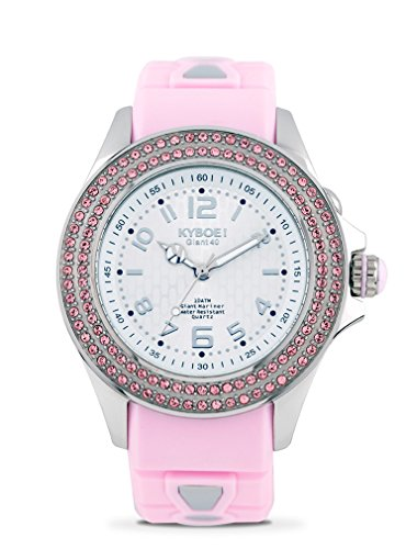 Kyboe! RADIANT WHIMSY SW.40-006.15 Ladies Crystal LED Watch