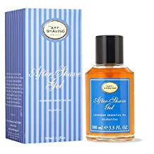 After Shave Gel Alcohol Free - Lavender Essential Oil (For Sensitive Skin) - 100ml/3.4oz