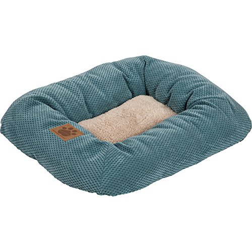 Precision Pet, SnooZZy Mod Chic Low Bumper Mat, 1000 Teal