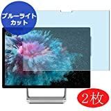 """【2 Pack】 Synvy Anti Blue Light Screen Protector for Microsoft Surface Studio 2 2019 28"""" Studio2 Anti Glare Screen Film Protective Protectors [Not Tempered"""
