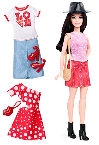 Barbie Boot (Barbie Fashionistas Doll & Fashions Pizza Pizzazz, Petite Dark-Haired)
