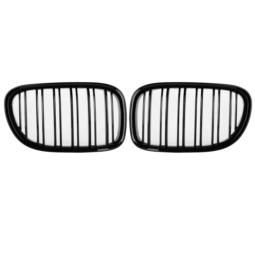 Anteriore Griglia Coperchio Paraurti Anteriore Black Gloss Style per F01 F02 7-SERIES 730d 740i 750i 2009-2017