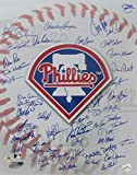 Phillies Greats Multi-Signed 16x20 Color Photo