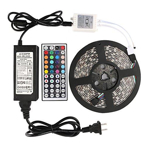 WenTop 5050-300-RGB-IP44+44K+6AUS LED Strip Lights Kit, N...