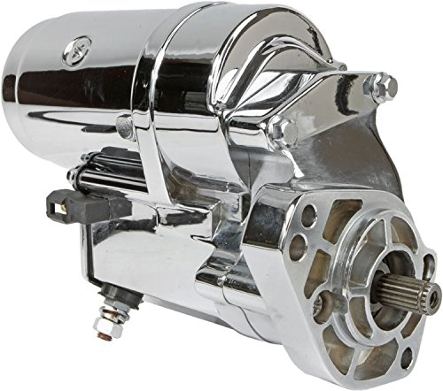 Chrome Harley Starter - DB Electrical SHD0015-C Starter For Chrome 2.4Kw Harley 31553-94 31559-99A