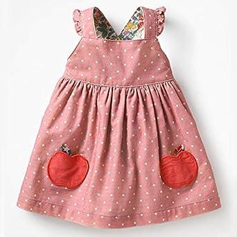 BRAN Falda pequeña Ropa Otoño Bebé Niña Ropa Algodón Fruta Animal ...