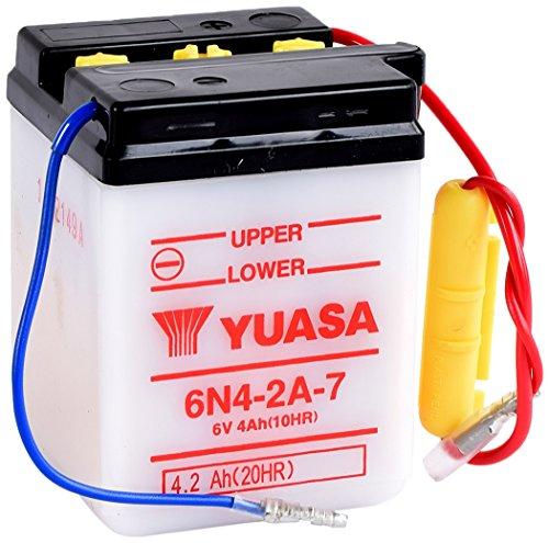 YUASA batterij 6N4-2A-7 open zonder Sauur