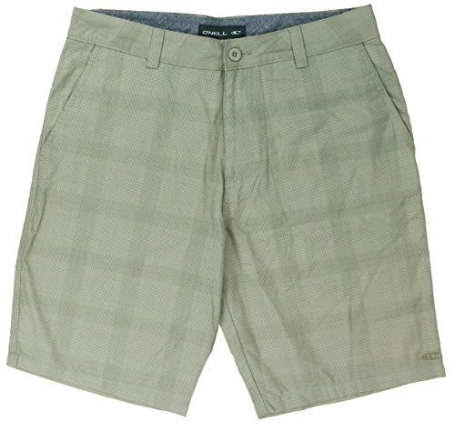 ONeill Mens Plaid Front Shorts