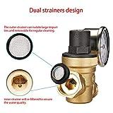 Adjustable Reducer Brass Water Pressure