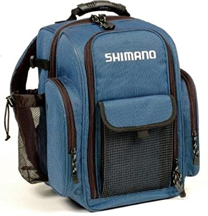 857b529b77f Amazon.com : Shimano Blackmoon Compact Backpack Tackle Bag : Fishing Tackle  Storage Bags : Sports & Outdoors