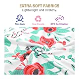 Zooawa Nursing Breastfeeding Cover Scarf - Baby Car Seat Canopy, Shopping Cart, Stroller, Carseat Covers for Girls and Boys - Best Multi Use Infinity Stretchy Shawl