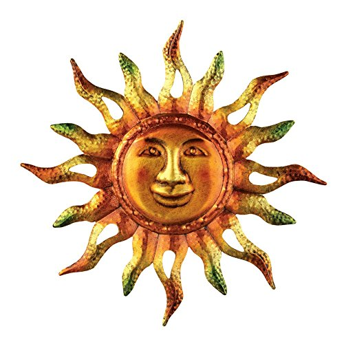 Metallic Sun Wall Art Multi