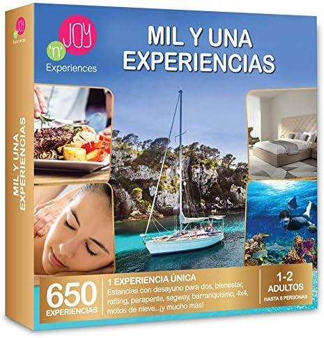 NJOY Experiences - Caja Regalo - MIL Y UNA EXPERIENCIAS - Más de ...