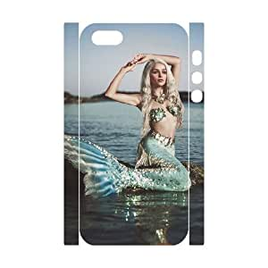 ALICASE Diy Customized Case Mermaid 3D Case for iPhone 5,5S [Pattern-1]