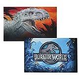Jurassic World Reversible Pillowcase - Dinosaur Attraction