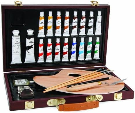 Darice Estudio 71 Caja de Pintura al óleo Art set-27 Piezas ...