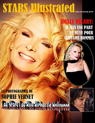 Stars Illustrated Magazine® Novembre 2018. EDITION FRANCAISE (French Edition)