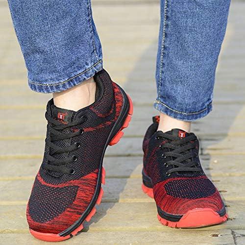 安全靴 鋼先芯 絶縁 耐油性 刺す叩く防止 作業靴 スニーカー メンズ レディース 超通気 軽量 通気 耐摩耗 衝撃吸収 男女兼用 6色