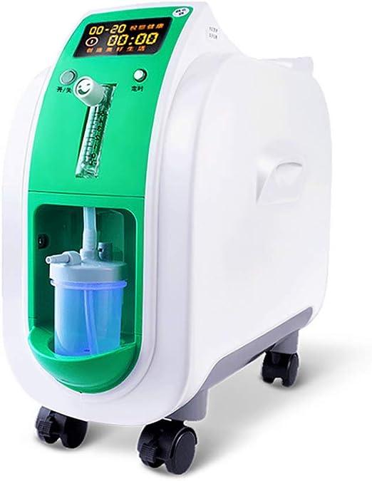 BBYT con Ruedas 1-l/min Concentrador de oxígeno Ajustable ...