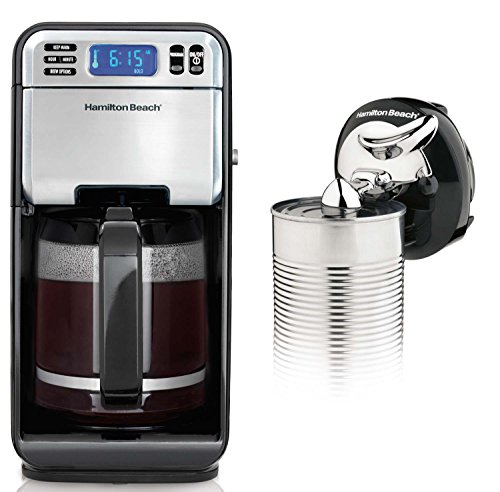 buy hamilton beach 12 cup coffee maker 46201 at low prices. Black Bedroom Furniture Sets. Home Design Ideas