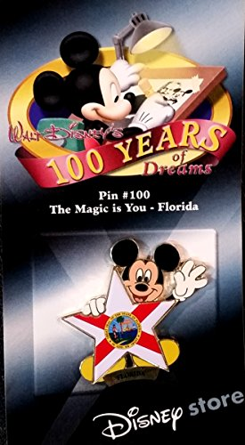 (Disney 100 Years of Dreams - The Magic is You Florida - Pin #100)