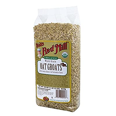Bob's Red Mill Organic Oats Whole Groats, 29 Ounce (Pack of 4) from Bob's Red Mill