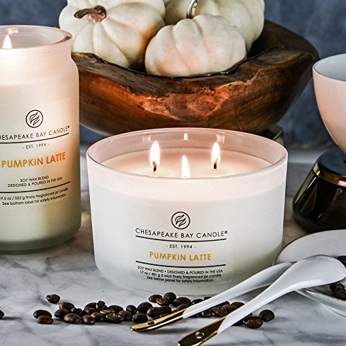 Chesapeake Bay Candle Heritage Coffee Table Scented Candle, Pumpkin Latte - incensecentral.us